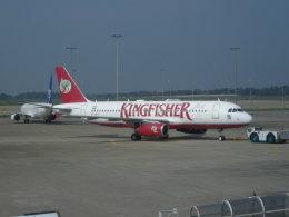 twinengineさんが、バンダラナイケ国際空港で撮影したキングフィッシャー航空 A320-232の航空フォト(飛行機 写真・画像)