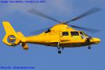 Chofu Spotter Ariaさんが、八尾空港で撮影した朝日航洋 AS365N3 Dauphin 2の航空フォト(写真)