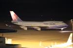 ふじいあきらさんが、広島空港で撮影したチャイナエアライン 747-409の航空フォト(写真)
