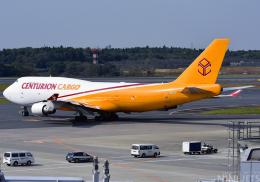 NINEJETSさんが、成田国際空港で撮影したセンチュリオン・エアカーゴ 747-412(BDSF)の航空フォト(飛行機 写真・画像)