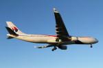 mogusaenさんが、成田国際空港で撮影したマレーシア航空 A330-323Xの航空フォト(飛行機 写真・画像)