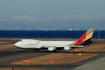 SKYLINEさんが、中部国際空港で撮影したアシアナ航空 747-48EF/SCDの航空フォト(写真)