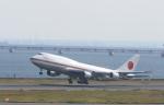 マスターMさんが、羽田空港で撮影した航空自衛隊 747-47Cの航空フォト(写真)