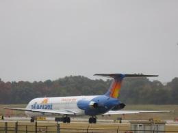 夷月さんが、メンフィス国際空港で撮影したアレジアント・エア MD-83 (DC-9-83)の航空フォト(飛行機 写真・画像)