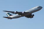 SKYLINEさんが、成田国際空港で撮影したキャセイパシフィック航空 747-867F/SCDの航空フォト(写真)