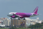いずみわおさんが、那覇空港で撮影したピーチ A320-214の航空フォト(写真)