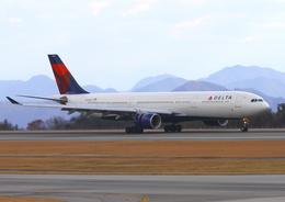 広島空港 - Hiroshima Airport [HIJ/RJOA]で撮影されたデルタ航空 - Delta Air Lines [DL/DAL]の航空機写真