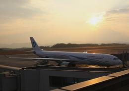 広島空港 - Hiroshima Airport [HIJ/RJOA]で撮影されたウラジオストク航空 - Vladivostok Air [XF/VLK]の航空機写真