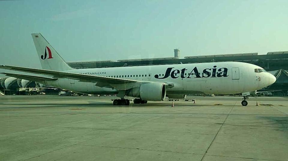 tsubasa0624さんのジェット・アジア・エアウェイズ Boeing 767-200 (HS-JAB) 航空フォト