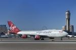 Longさんが、マッカラン国際空港で撮影したヴァージン・アトランティック航空 747-443の航空フォト(写真)