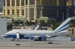 Longさんが、マッカラン国際空港で撮影したラスベガス サンズ 747SP-21の航空フォト(写真)