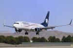 Longさんが、マッカラン国際空港で撮影したアエロメヒコ航空 737-852の航空フォト(写真)