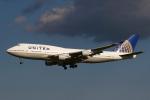 りんたろうさんが、成田国際空港で撮影したユナイテッド航空 747-422の航空フォト(写真)