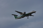 snow_shinさんが、福岡空港で撮影したANAウイングス DHC-8-402Q Dash 8の航空フォト(飛行機 写真・画像)
