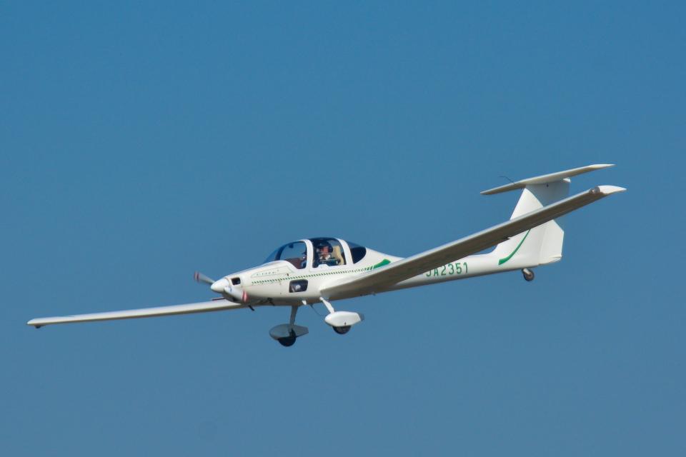 パンダさんの日本個人所有 Grob G109 (JA2351) 航空フォト