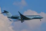 パンダさんが、成田国際空港で撮影したユタ銀行 Gulfstream G650 (G-VI)の航空フォト(写真)