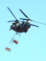 アイスコーヒーさんが、入間飛行場で撮影した航空自衛隊 CH-47J/LRの航空フォト(写真)