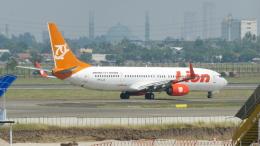 誘喜さんが、スカルノハッタ国際空港で撮影したライオン・エア 737-9GP/ERの航空フォト(飛行機 写真・画像)