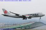 Chofu Spotter Ariaさんが、関西国際空港で撮影したカーゴルクス・イタリア 747-4R7F/SCDの航空フォト(写真)