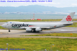 Chofu Spotter Ariaさんが、関西国際空港で撮影したカーゴルクス・イタリア 747-4R7F/SCDの航空フォト(飛行機 写真・画像)