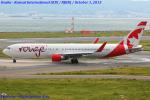 Chofu Spotter Ariaさんが、関西国際空港で撮影したエア・カナダ・ルージュ 767-333/ERの航空フォト(写真)