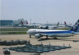AntonioKさんが、成田国際空港で撮影した全日空 767-381/ERの航空フォト(飛行機 写真・画像)