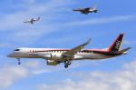 いっくんさんが、名古屋飛行場で撮影した三菱航空機 MRJ90STDの航空フォト(飛行機 写真・画像)