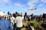 ふらっぺろんさんが、名古屋飛行場で撮影した三菱航空機 MRJ90STDの航空フォト(写真)