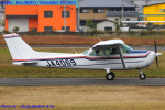 Chofu Spotter Ariaさんが、八尾空港で撮影した学校法人ヒラタ学園 航空事業本部 172P Skyhawkの航空フォト(飛行機 写真・画像)