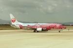 しんさんが、関西国際空港で撮影した日本トランスオーシャン航空 737-446の航空フォト(写真)