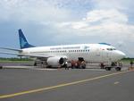 bigheadさんが、アフマド・ヤニ国際空港で撮影したガルーダ・インドネシア航空 737-3U3の航空フォト(写真)