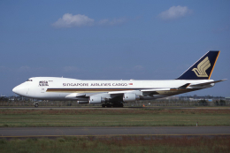 kumagorouさんが、仙台空港で撮影したシンガポール航空カーゴ 747-412F/SCDの航空フォト(飛行機 写真・画像)