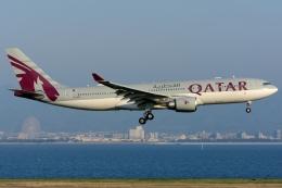 NH501さんが、関西国際空港で撮影したカタール航空 A330-202の航空フォト(飛行機 写真・画像)