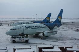 bigheadさんが、エドモントン国際空港で撮影したカナディアン・ノース 737-232/Advの航空フォト(飛行機 写真・画像)