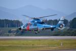 mojioさんが、静岡空港で撮影した静岡県警察 AS365N1 Dauphin 2の航空フォト(飛行機 写真・画像)