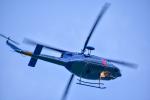パンダさんが、札幌飛行場で撮影した北海道警察 412EPの航空フォト(飛行機 写真・画像)