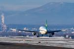 パンダさんが、旭川空港で撮影した春秋航空 A320-214の航空フォト(写真)
