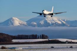 パンダさんが、旭川空港で撮影した日本航空 767-346/ERの航空フォト(写真)