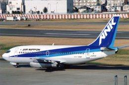 suu451さんが、羽田空港で撮影したエアーニッポン 737-281/Advの航空フォト(飛行機 写真・画像)