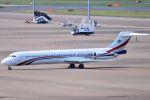 orbis001さんが、羽田空港で撮影したスワジランド政府 MD-87 (DC-9-87)の航空フォト(写真)