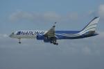 北の熊さんが、新千歳空港で撮影したナショナル・エアラインズ 757-223の航空フォト(写真)