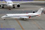 Chofu Spotter Ariaさんが、羽田空港で撮影したマン島企業所有 EMB-135BJ Legacyの航空フォト(飛行機 写真・画像)