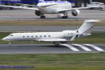 Chofu Spotter Ariaさんが、羽田空港で撮影したホンコン・ジェット G-V-SP Gulfstream G550の航空フォト(飛行機 写真・画像)