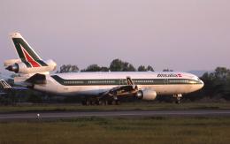 kumagorouさんが、仙台空港で撮影したアリタリア航空 MD-11Cの航空フォト(写真)
