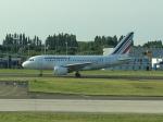 511hotakaさんが、パリ シャルル・ド・ゴール国際空港で撮影したエールフランス航空 A318-111の航空フォト(写真)