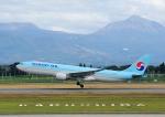 じーく。さんが、鹿児島空港で撮影した大韓航空 A330-223の航空フォト(飛行機 写真・画像)