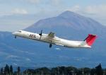 じーく。さんが、鹿児島空港で撮影した日本エアコミューター DHC-8-402Q Dash 8の航空フォト(飛行機 写真・画像)
