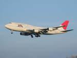 アイスコーヒーさんが、那覇空港で撮影した日本航空 747-446Dの航空フォト(写真)
