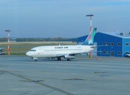 mucchanさんが、エドモントン国際空港で撮影したファースト・エア 737-2L9/Advの航空フォト(飛行機 写真・画像)