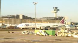 tsubasa0624さんが、フランクフルト国際空港で撮影したカタール航空 777-2DZ/LRの航空フォト(写真)